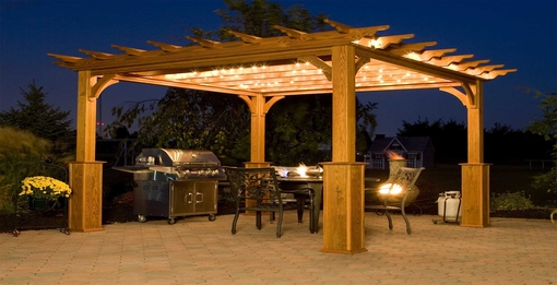 Entertain your family and friends with a beautiful pergola