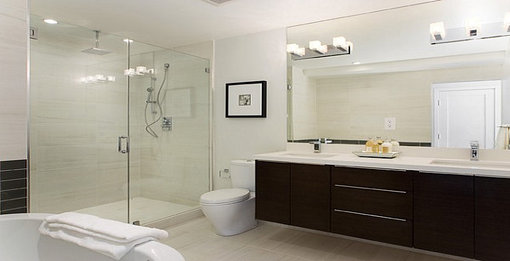 Modern bathrooms can dramaticly increase the value of your home