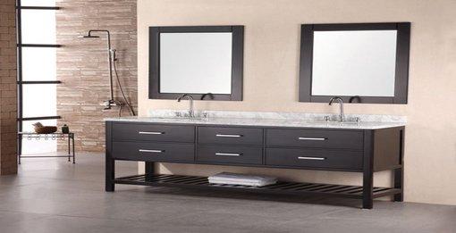 A contemporary bathroom design