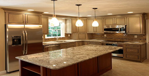 A modern kitchen can turn any house into a master piece
